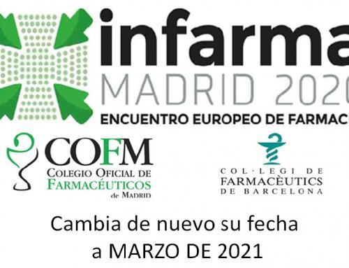 INFARMA cancela su celebración de este año debido a la crisis sanitaria producida por el Covid-19