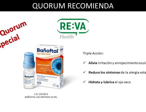 QUORUM RECOMIENDA: Bañofltal Ojo Irritado de Reva Health