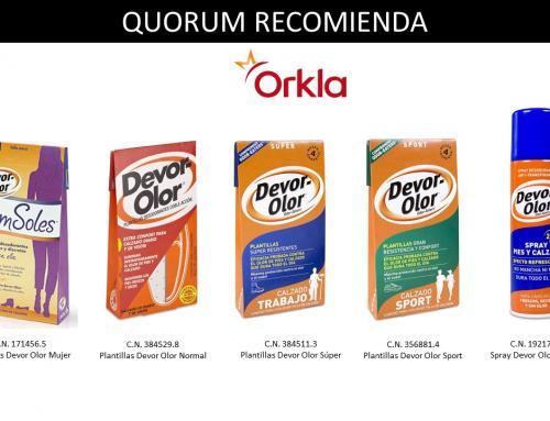 QUORUM RECOMIENDA: Devor-Olor de Orkla