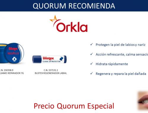 QUORUM RECOMIENDA: Bálsamos Labiales Blistex de Orkla