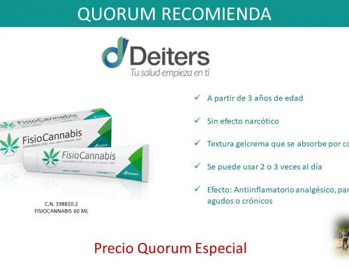 QUORUM RECOMIENDA: Fisiocannabis 60 ml de Deiters